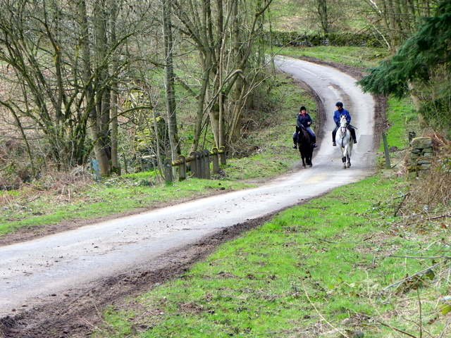 Minor road near Ilton