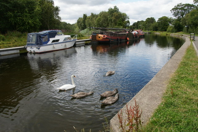 Forth and Clyde Canal at Falkirk Wheel