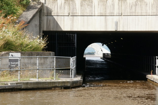 Roughcastle Tunnel on the Union Canal