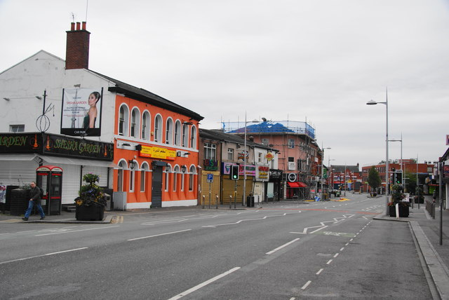 Rusholme's Curry Mile