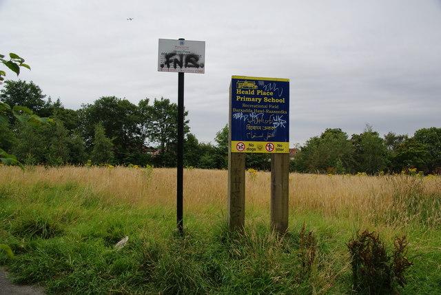 Heald Place Primary School Recreational Field