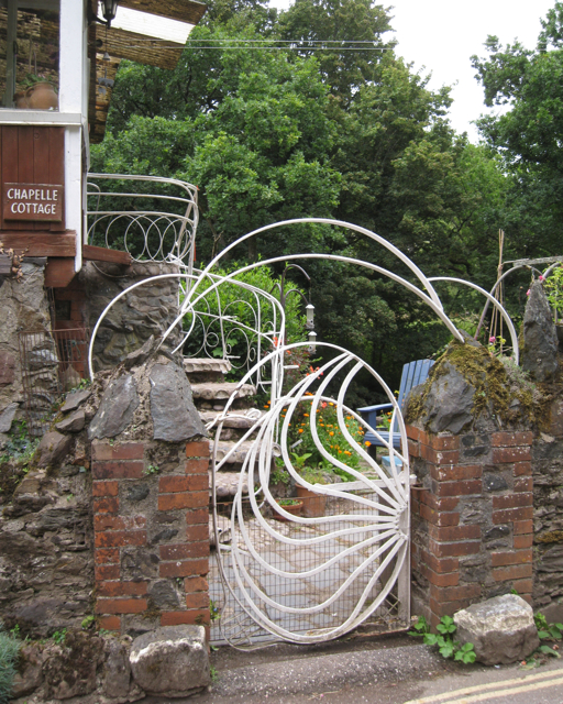 Decorative ironwork at Bow