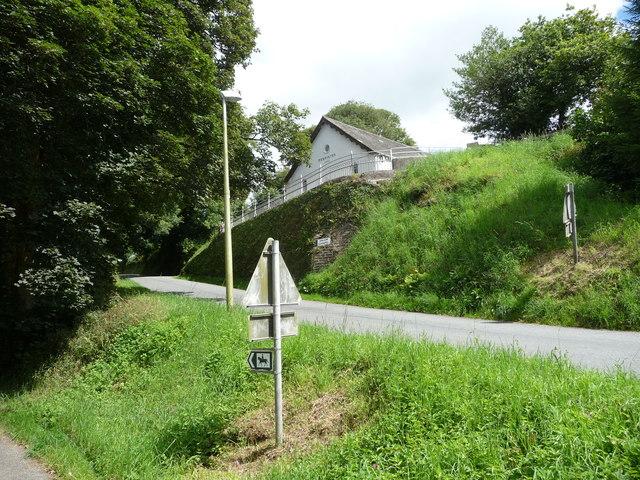 Salem Chapel between Treffgarne and Spittal Cross