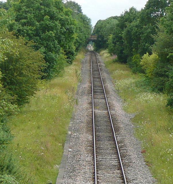 Railway towards Maidenhead
