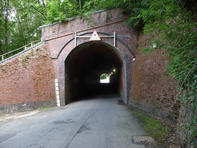 Western portal of the Spittal road tunnel