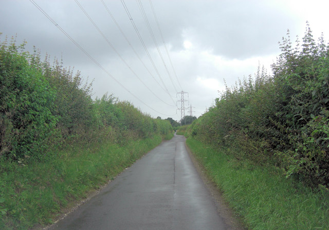 Lane to Hannington