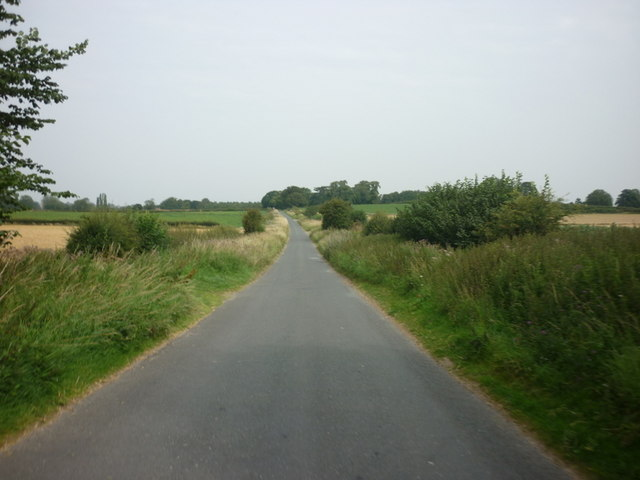Grafton Lane towards Aldborough