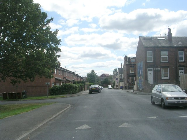 Cow Close Road - viewed from Cobden Street