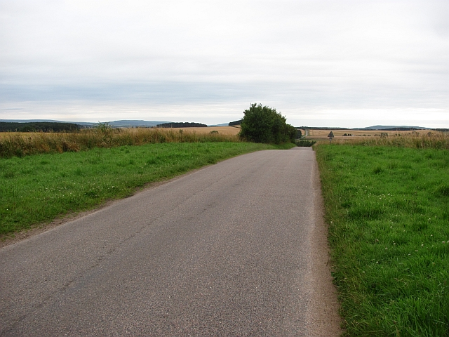 Minor road near Urquhart