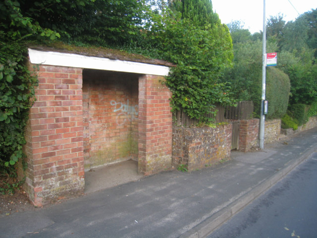 Solid bus shelter