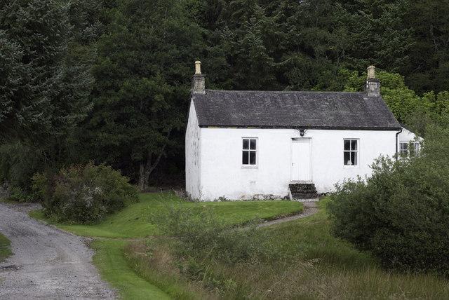 Gate House by Glen Cassley Castle