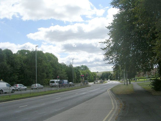 Low Wortley Ring Road - viewed from Whincover Drive