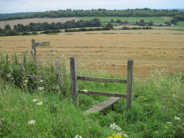 Footpath near The Folly on Nore Hill