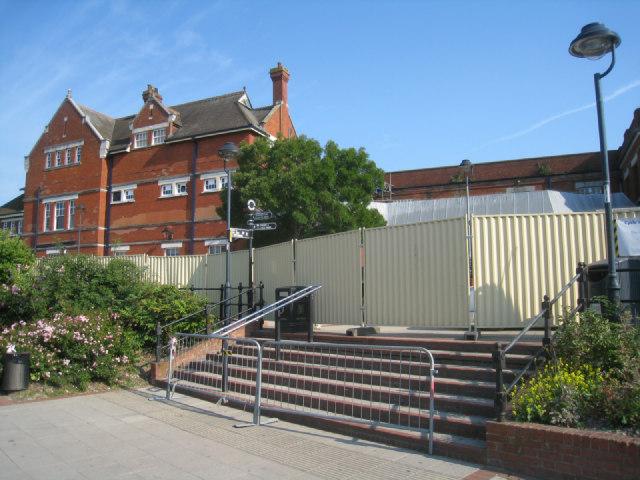 Start of Basingstoke station redevelopment
