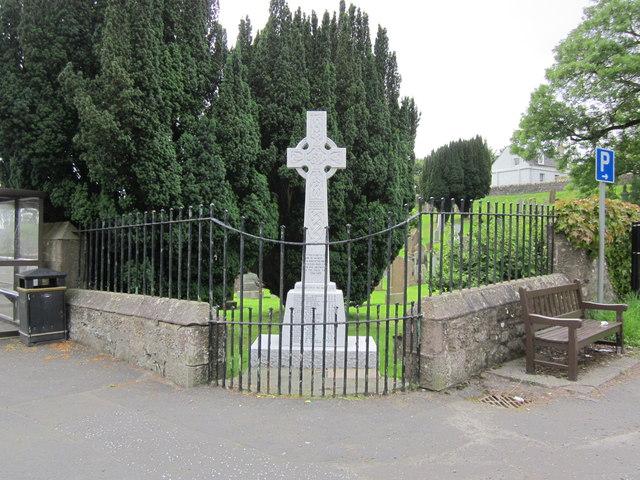 Kirkoswald War Memorial