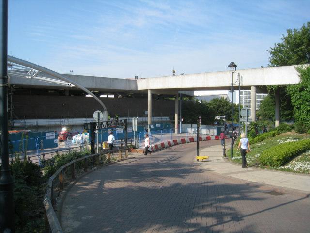 The Malls car park ramp