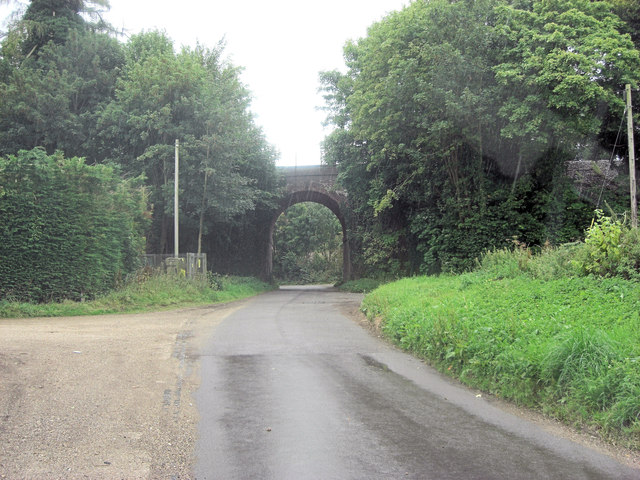 Ivy Down Lane railway arch