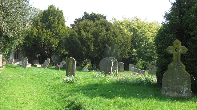 Churchyard, Holdgate