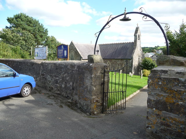 St. Jerome's church, Llangwm