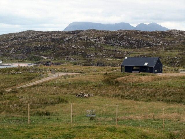 New cottage overlooking Clashnessie Bay