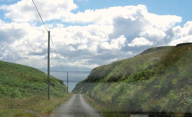 Road to Carsaig