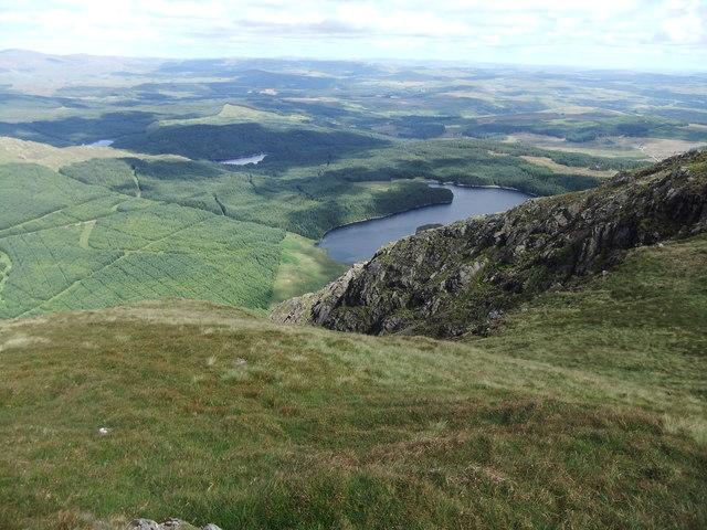 Loch Dungeon from Milldown