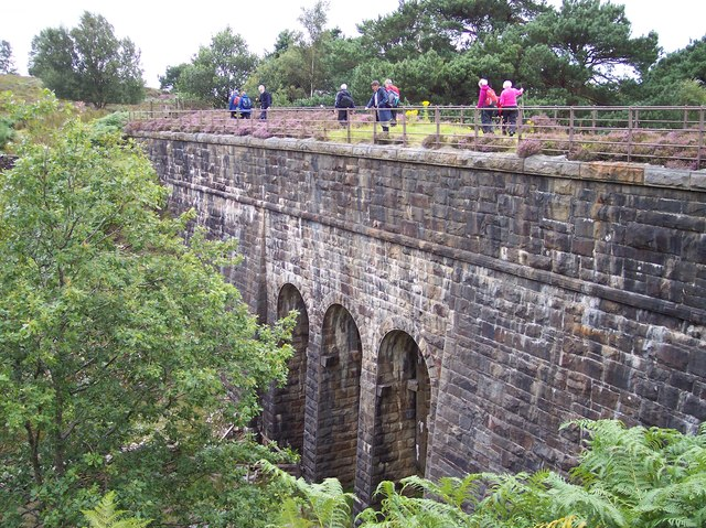 The aqueduct over Otter Geer