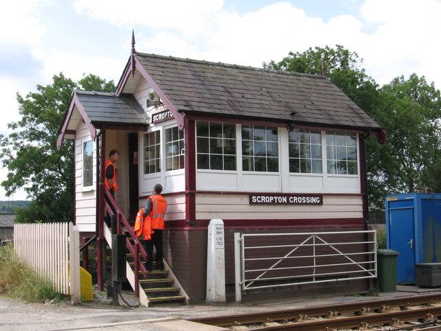 Scropton - Crossing Signal Box