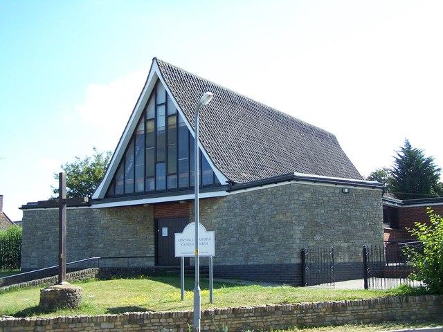 St Paul The Apostle Roman Catholic Church, Thrapston