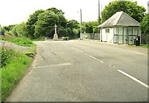 NX0054 : A77 at the junction with Heugh Road by Ann Cook