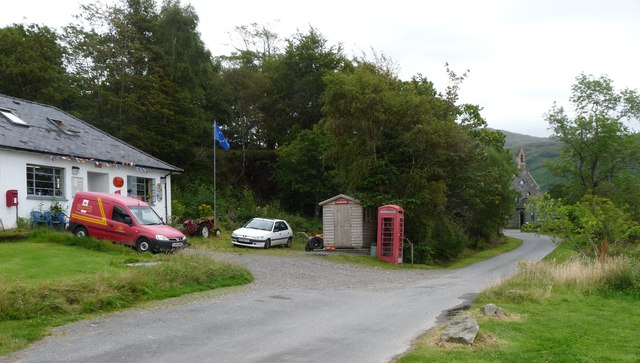 The Post Office at Inverie