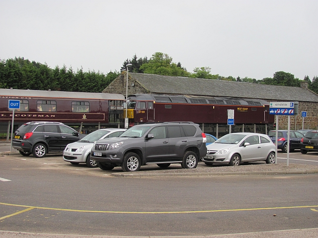 Car park, Keith Station