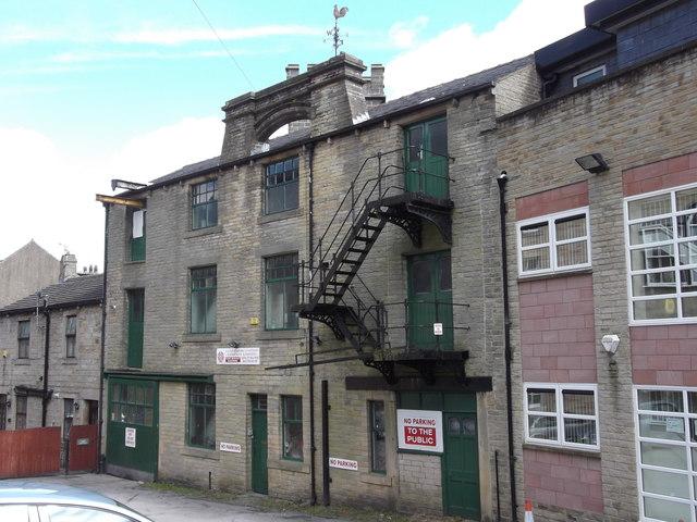 """""""Lancashire Cotton Co Ltd"""" (Textile Merchants & Agents) Rise Lane, Todmorden, Lancashire, OL14 7AA"""