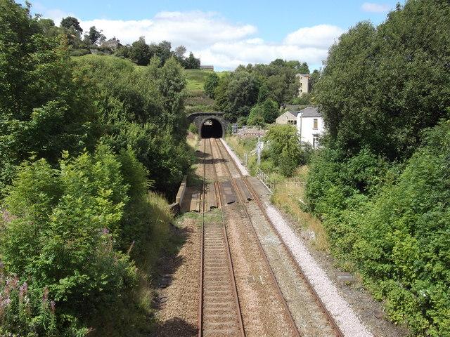 Railway Line, Rochdale Road, Walsden