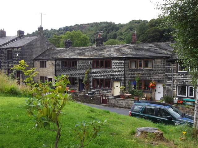 Cottages, Square Road, Walsden