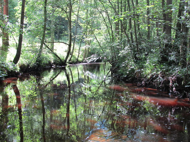 Reflections in Devil's Water