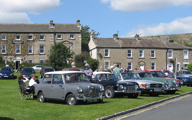 Parking on the village green