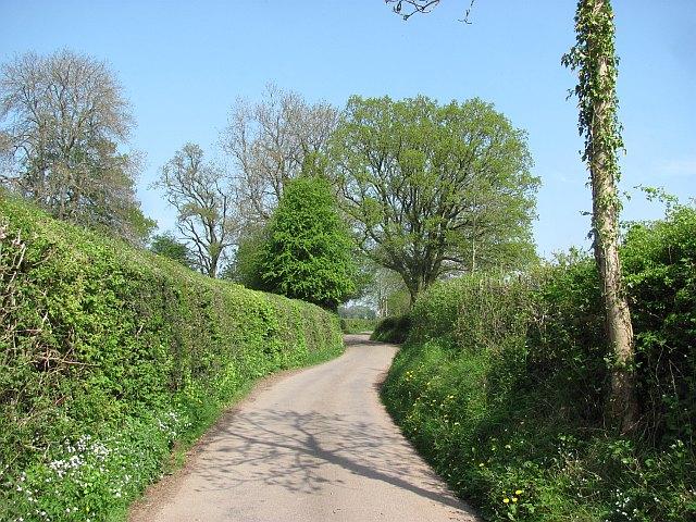 Clee St Margaret to Abdon road