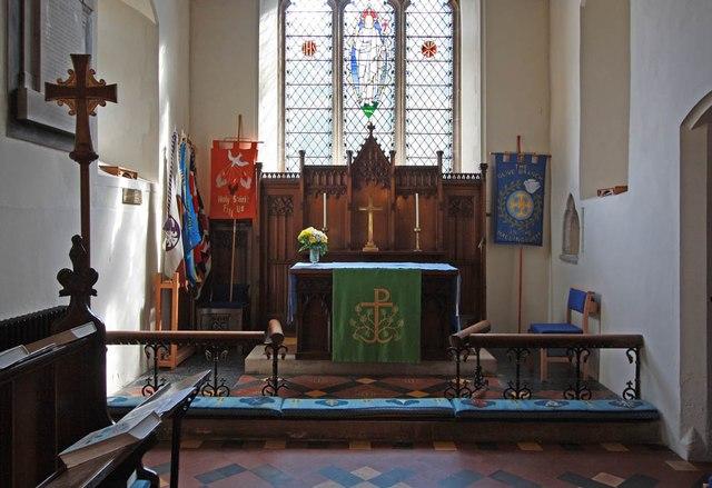 St Mary the Virgin, Little Hallingbury - Sanctuary