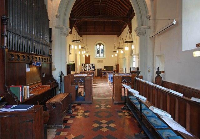 St Mary the Virgin, Little Hallingbury - West end