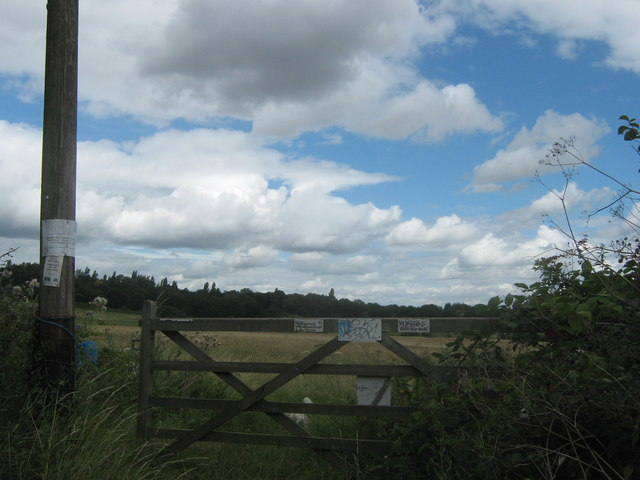 Farm gate on Green Chain Walk