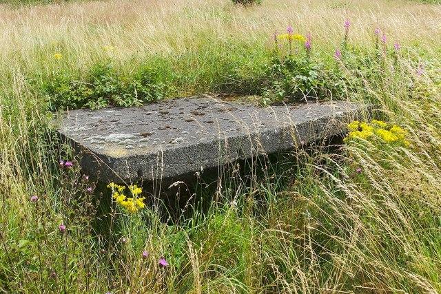 Ruined pillbox