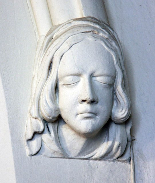 St Mary the Virgin, Little Hallingbury - Label head
