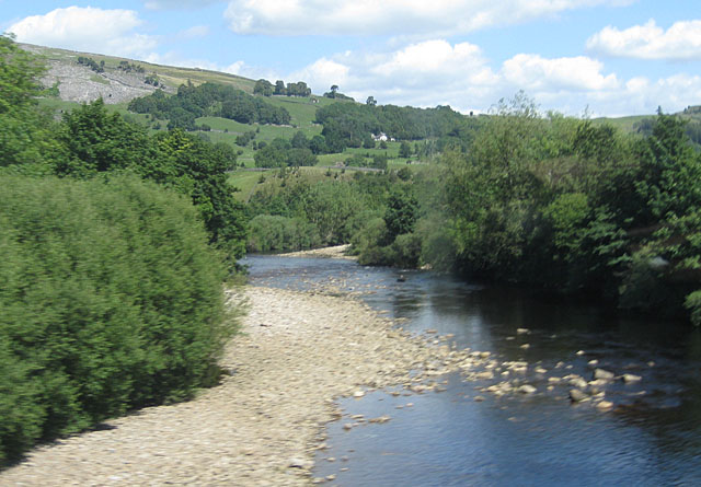 River Swale from Grinton Bridge