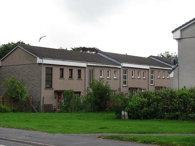 Houses on Blackhall Road