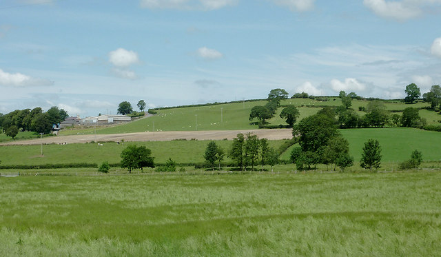 Farmland west of Llanddewi-Brefi, Ceredigion