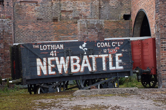 Railway wagon, Scottish Mining Museum Newtongrange