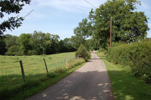 Drive to Little Iridge Farm