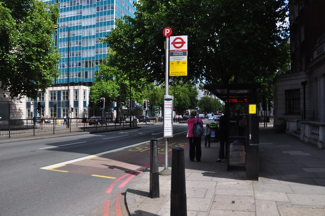 London : Westminster - Marylebone Road & Bus Stop
