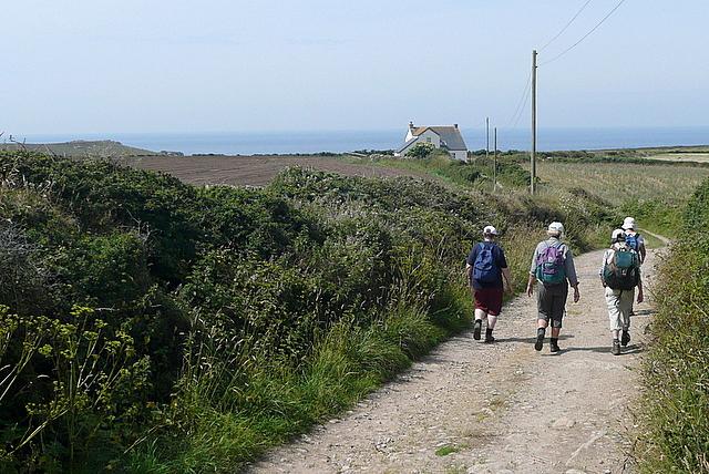 Towards Bosistow Cliffs